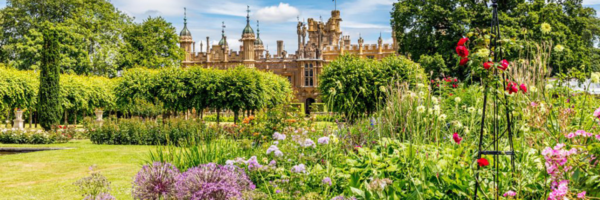 Knebworth House Gardens and Park