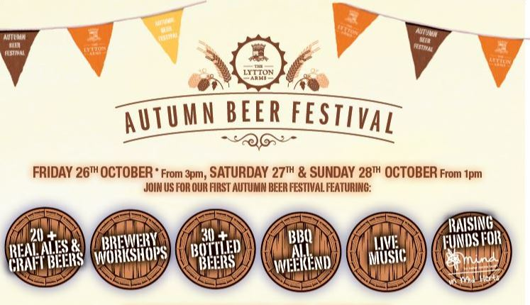 Join us for our Autumn Beer Festival